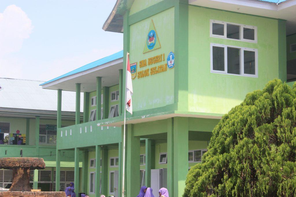 Gedung Baru SMAN 1 Solok Selatan